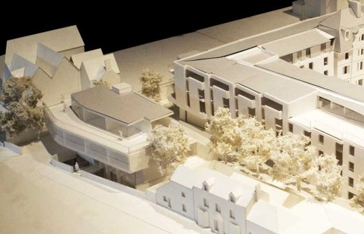Keble College Oxford: Acland Hospital Site Building design