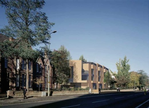 Keble College Oxford Building design by Rick Mather Architects