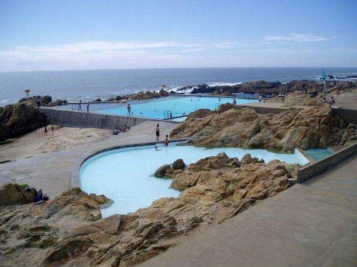 Leça Swimming Pools, Portugal Alvaro Siza
