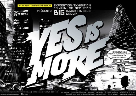 Yes is More Exhibition: BIG Architects Book