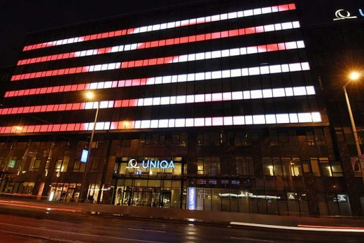 UNIQA Budapest, Hungary Offices building