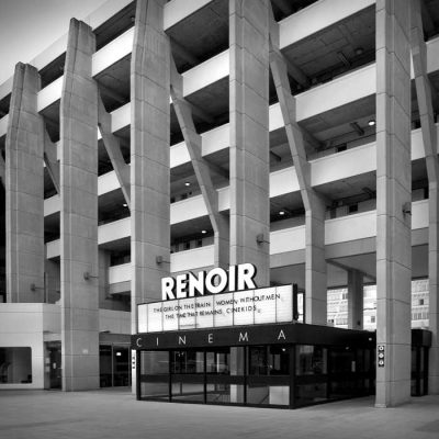 The Renoir Cinema in the Brunswick (Centre), Bloomsbury, London. Designed by Patrick Hodgkinson