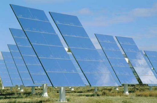 Middle East solar panels