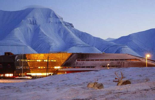 Svalbard Science Centre, Arctic Building