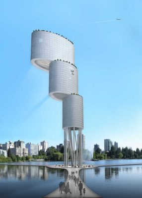 Vertical City, Venezuela Tower building design