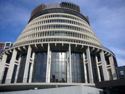 The Beehive Wellington Parliament Building Executive Wing