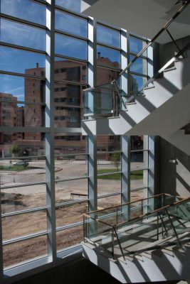 Active Glass Curtain Wall: Intelliglass Architectural Glazing