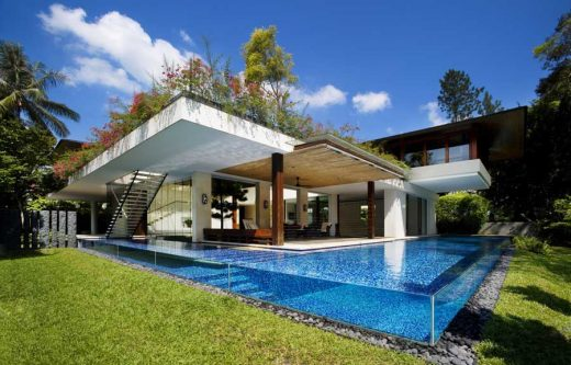 Tangga House Singapore home by Guz Architects