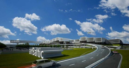 AirBaltic Terminal - Latvian Building Competition, Riga