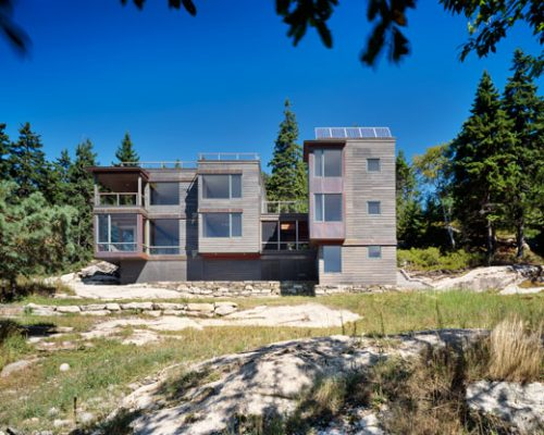 Modern Architecture in Maine Exhibition - Island House building