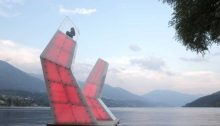 Lightsails Millstättersee, Austria lake design