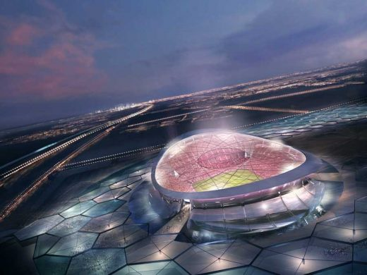 Lusail Iconic Stadium FIFA World Cup Qatar by Foster + Partners