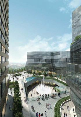 Raffles City Ningbo, SPARCH China development