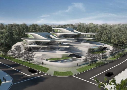 Nassim Villas Singapore Luxury houses by Zaha Hadid Architects