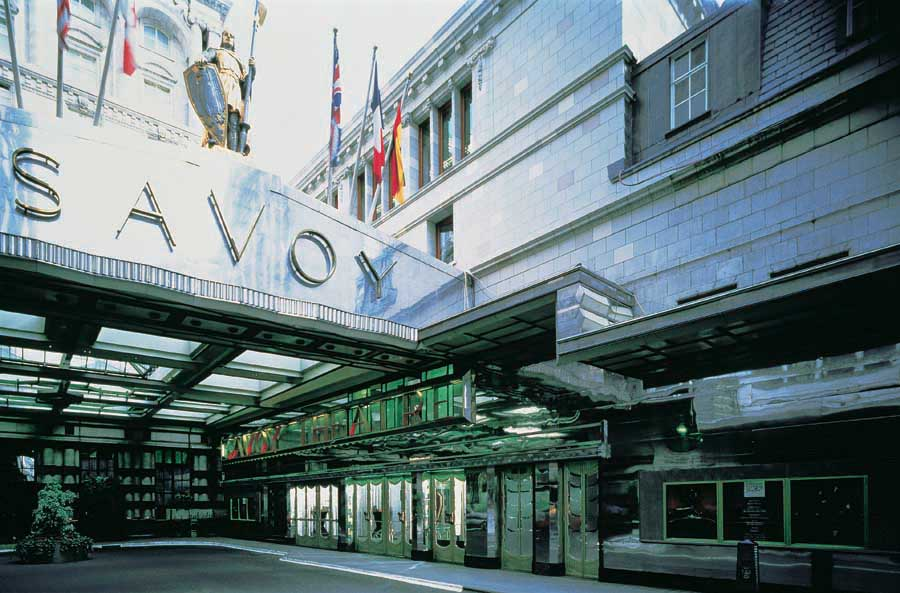 The Savoy Hotel London Restoration E Architect