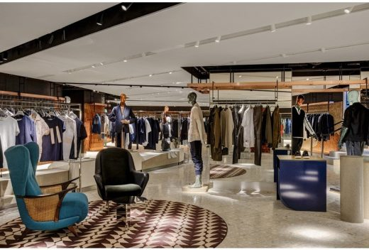 new Harvey Nichols Knightsbridge store interior London