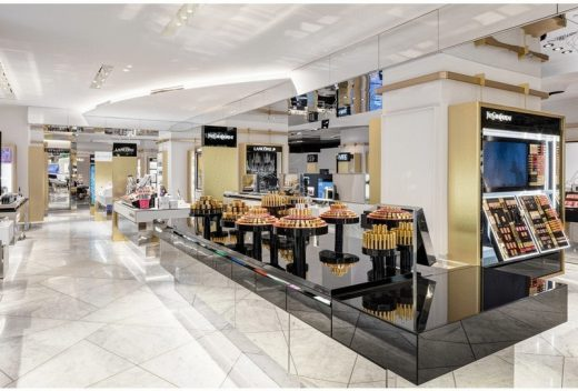 new Harvey Nichols Knightsbridge shop interior London