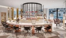 Harvey Nichols Knightsbridge store interior London