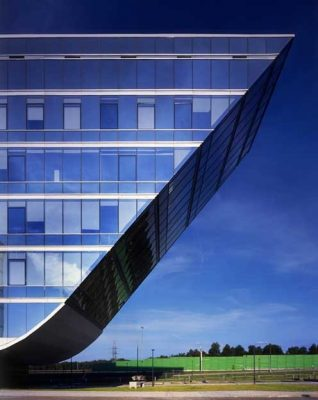Moscow office building by Vladimir Plotkin Architects