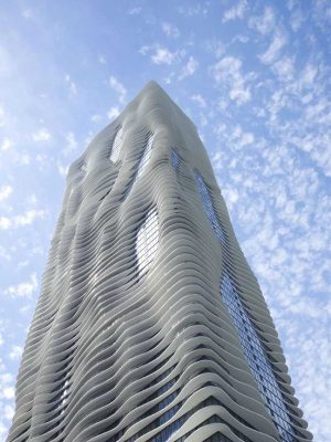 Aqua Tower Chicago building