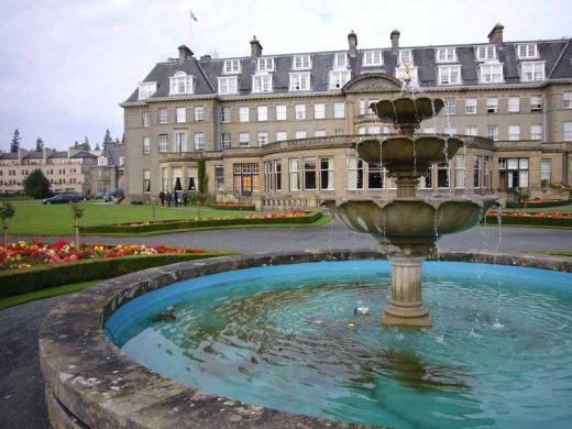 Gleneagles Hotel Scotland, Perthshire by James Miller