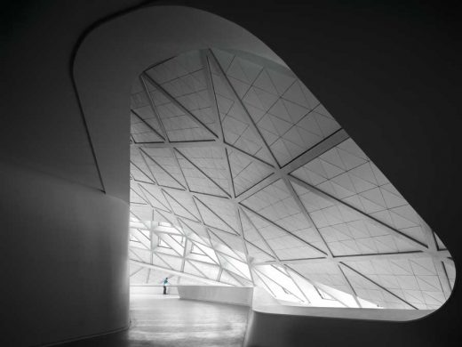 Guangzhou Opera House by Zaha Hadid Architect
