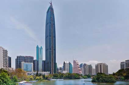 Kingkey Finance Tower Shenzhen building