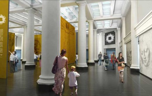 Brooklyn Museum Great Hall, New York