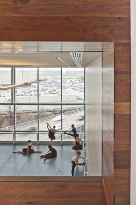 Houston Ballet Center for Dance building interior