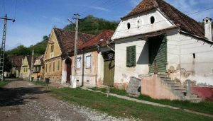 village of Viscri Romania Buildings