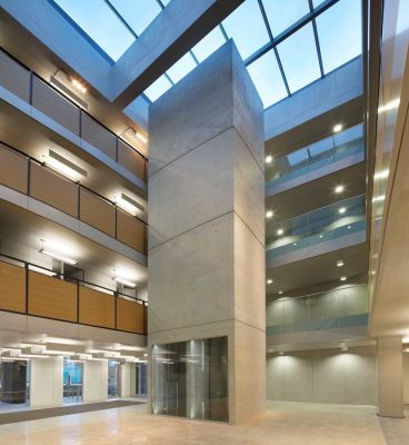 Charles Carter Building Lancaster University interior