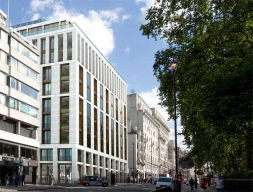 Piccadilly building London Green Park property