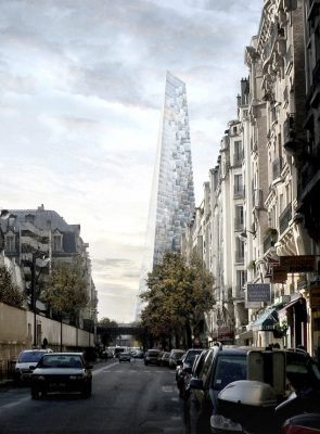 Projet Triangle Paris Pyramid