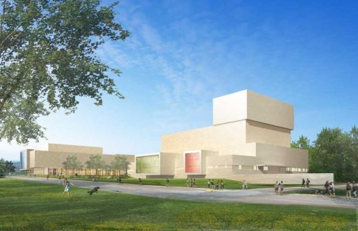 Western Illinois University Theater WIU Performing Arts Center Building by Pelli Clarke Pelli Architects