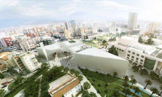 Cultural Centre Albania - Mosque Complex by BIG