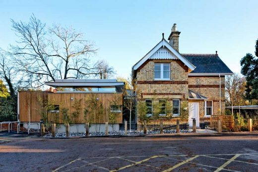 Maggie's Cotswolds: Cheltenham Cancer Caring Centre building