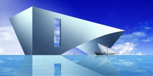Maritime Museum Building Abu Dhabi Tadao Ando Architects & Associates