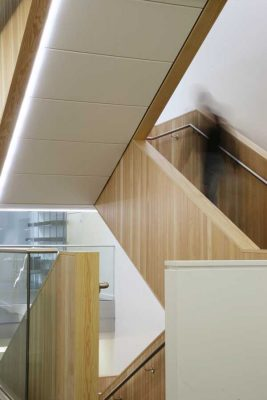 Oxford Molecular Pathology Institute: OMPI Building stairs