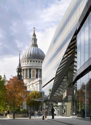 One New Change London by Jean Nouvel