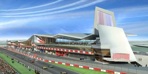 Silverstone Wing Pit England