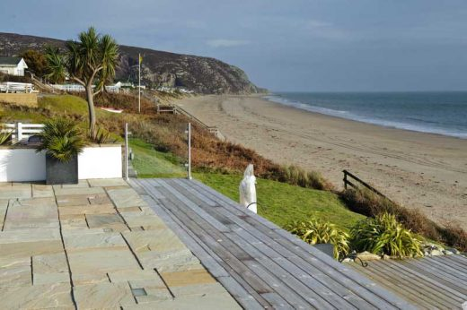 Holiday lodges newly built by Lissett Homes at The Warren in Abersoch
