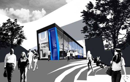 UEL Stratford Campus Building by Surface Architects