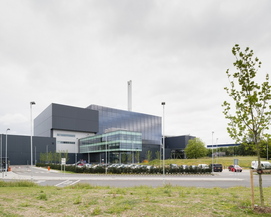 Energy From Waste Facility Suffolk E Architect
