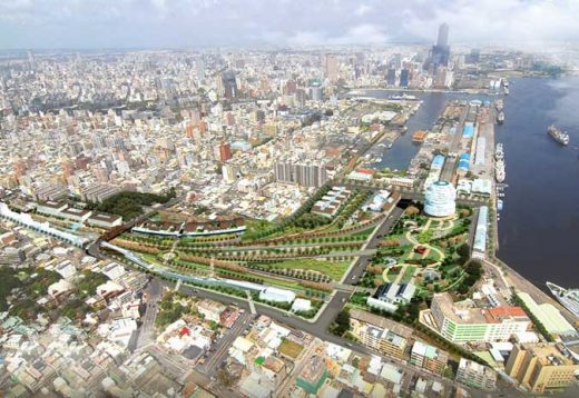 Kaohsiung Port Station Urban Design Competition - AGER Group Taiwan