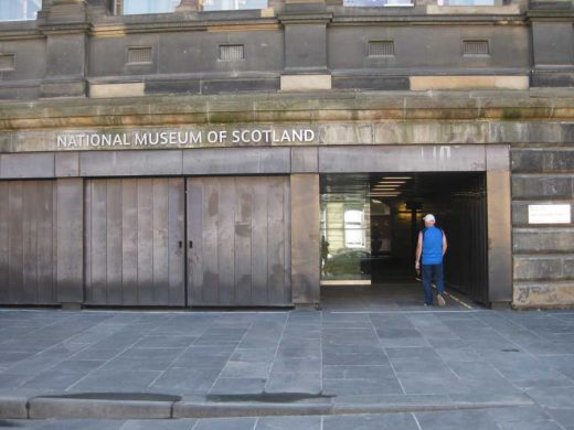 National Museum of Scotland Architectural Legibility & Didacticism