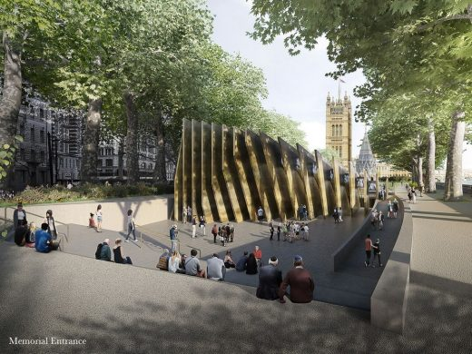 Ron Arad National Holocaust Memorial and Learning Centre in London