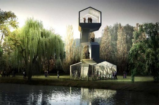 Follies Poissy Carriere Sous Poissy building design