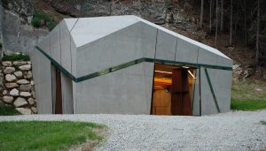 Hydroelectric Power Station building in Winnebach, Bolzano, Italy