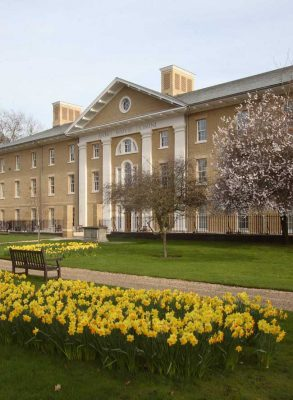 Royal Hospital Chelsea Infirmary building facade