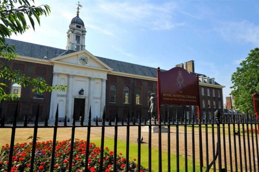 Royal Hospital Chelsea Infirmary London building